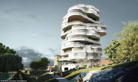 The 'White Tree' 17-Storey Apartment Block Resembles the Ultimate Treehouse