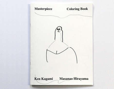Classic Art Coloring Books