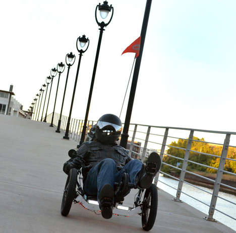 High-Speed Electric Tricycles