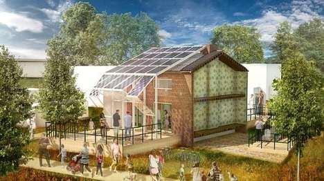 Solar Panel House Skins