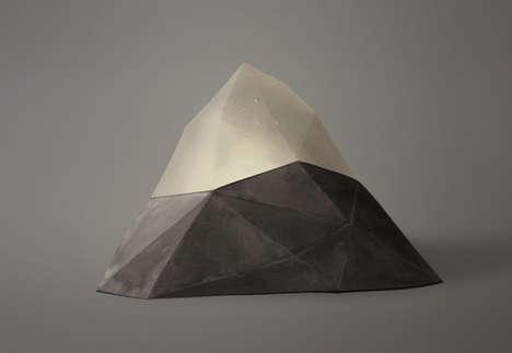 Abstracted Alpine Illuminators