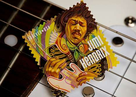 The Jimi Hendrix Stamp is Coming to Mailboxes Everywhere