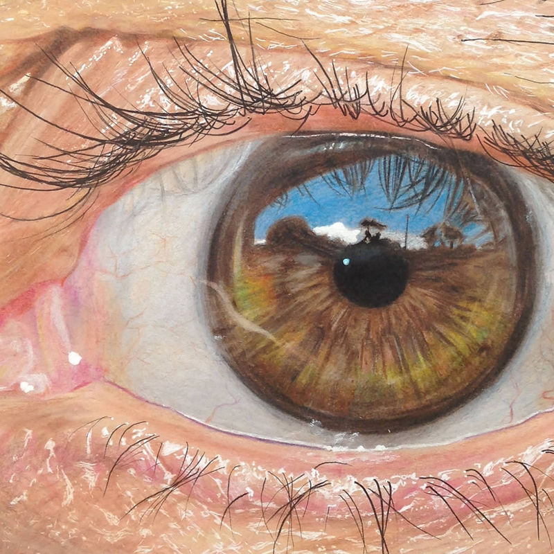 Hyperrealistic Eye Drawings