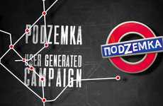 Student-Generated Bar Ads - The Podzemka Bar Had Its Customers Design Their Own Ads