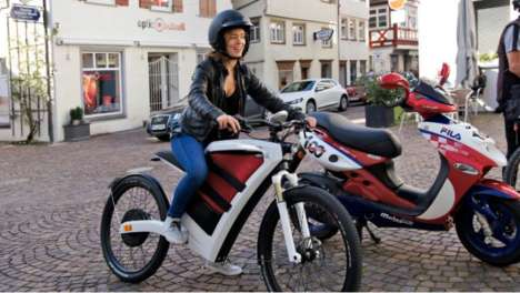 Cargo-Carrying Electric Scooters