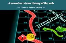 Internet History Board Games - The Guardian Turns Internet History into a Board Game