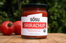 Spicy Condiment Collaborations - Srirachup is a Taste Bud Exploding Combo of Sriracha and Ketchup