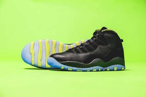 The Air Jordan 10s Venom Green Gives a Bold New Look to a Classic Style
