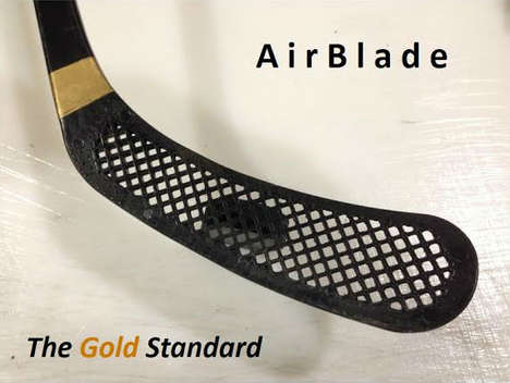 Carbon Sports Introduces the Revolutionary AirBlade Hockey Stick