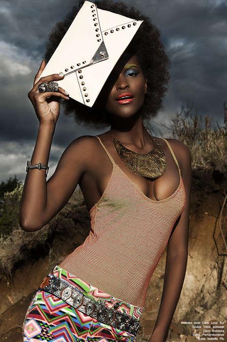 Vibrant Carnival-Like Fashion