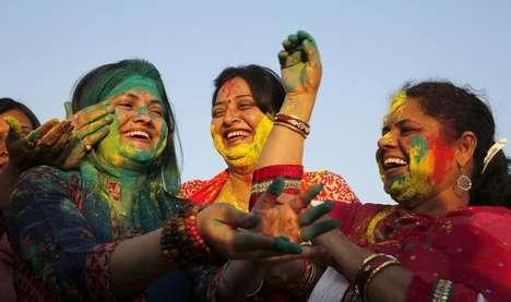 Colorful Holi Photography