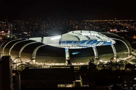 Sports Architecture Firm 'Populous' Creates Arena Das Dunas for FIFA 2014