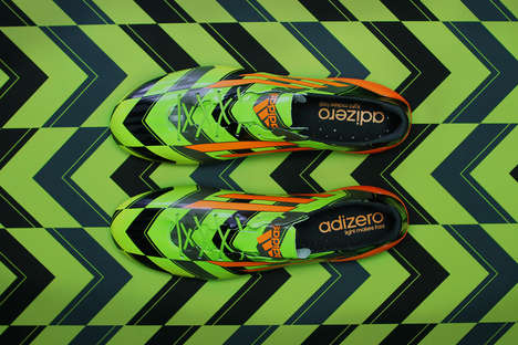 The adizero F50 Crazylight is the Lightest Cleat Ever