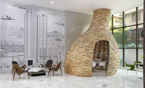 Nest-Like Meeting Rooms