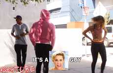 Yoga Pant Prank Videos - This Hilarious Yoga Pants Prank Fools People Who Decide to Sneak a Peek
