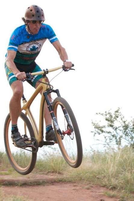 Kevlar-Infused Wooden Bikes
