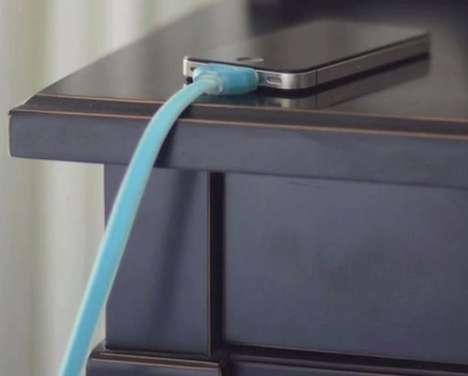 Luminous Dark-Glow Cables