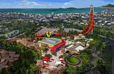 Racecar-Themed Amusement Parks - 'Ferrari Land' Will be the World's Second Ferrari-Themed Park