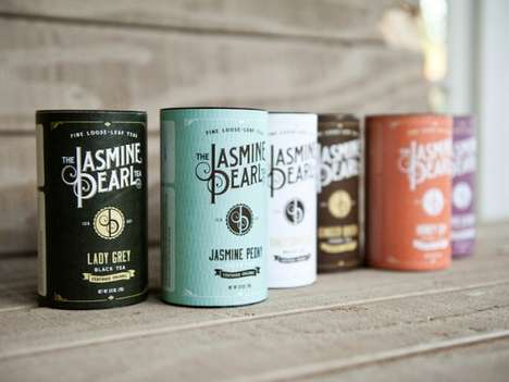 Premium Approachable Packaging - The Jasmine Pearl Tea Co. Gets a Makeover from Relevant Studios