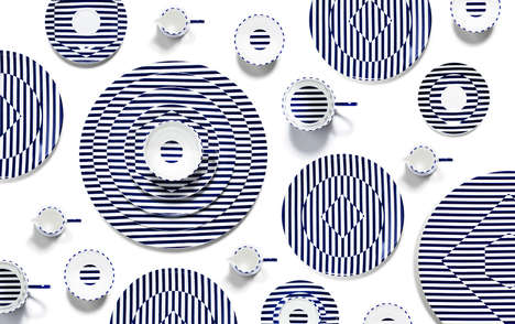 Op Art Dishware Collections
