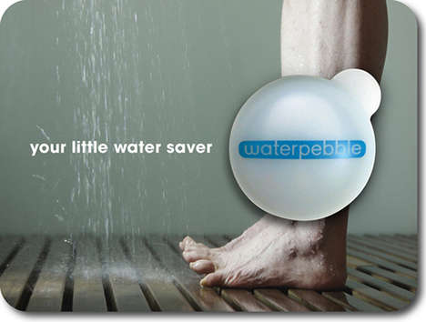 The Waterpebble is an Eco-Friendly Shower Monitor Cuts Down on Water