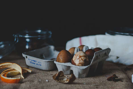 Tea-Cooked Eggs