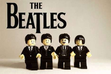 Iconic Band LEGO Recreations