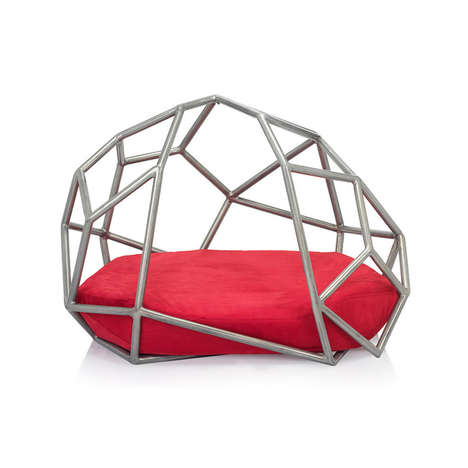 Extravagant Pet Furniture - The Dogghaus Luxury Dog Beds are Made for Pampered Pets
