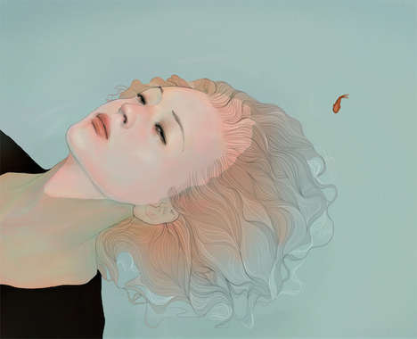 Ethereal Portrait Illustrations