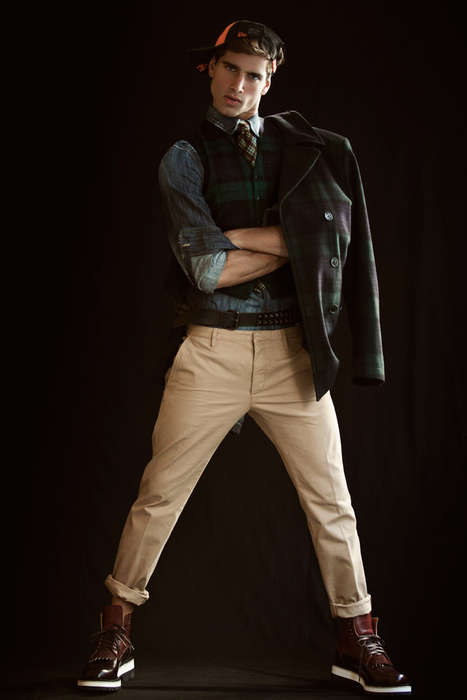 Preppy Punk Fashion - This Men's Fashion Editorial for ADON Magazine was Shot by Joey Leo