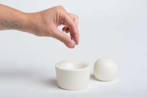 Eggcup Condiment Containers