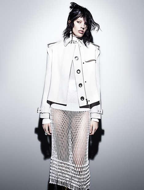 Androgynous Alabaster Fashion