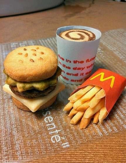 Cookie-Based Fast Food