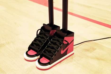 Sneaker-Sporting Lamps
