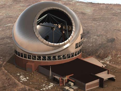 Massive Optical Telescopes
