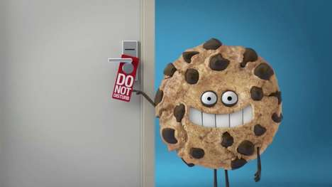 Personified Cookie Commercials