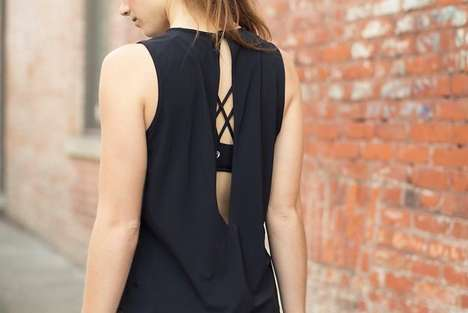Post-Workout Fitness Attire - The Lululemon '&go;' Line is Made for After-Yoga Drinks