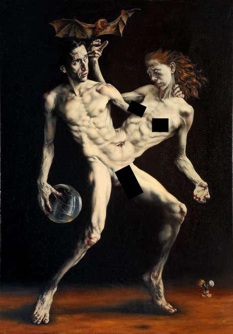 Erotic Renaissance-Like Paintings