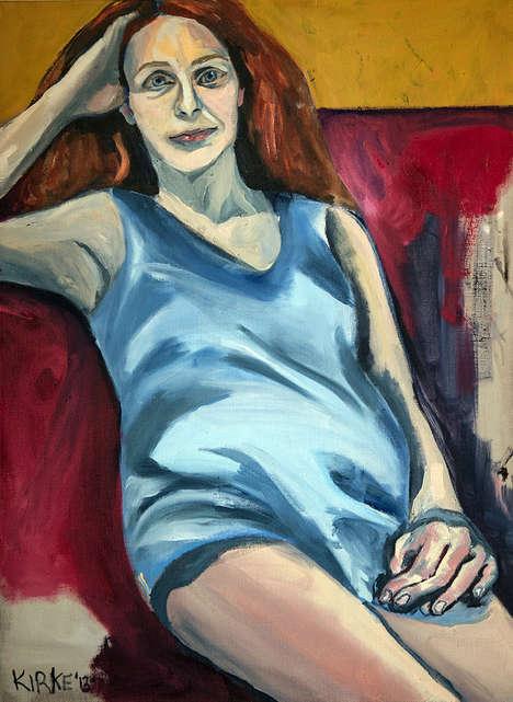 Evocative Girlhood Paintings
