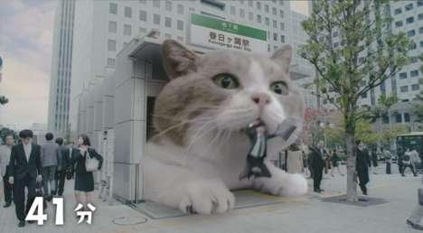 Bizarre Cat Gum Commercials