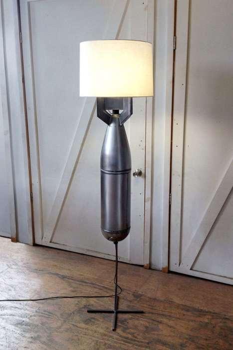Bomb-Shaped Lamps