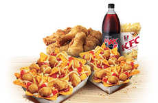 Popcorn Chicken Nachos - Delicious Popcorn Chicken is Being Added to KFC Nachos