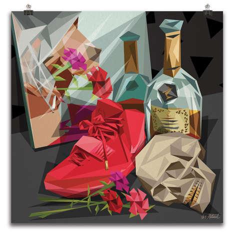Rap Lyric-Influenced Artwork