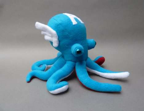 Tentacled Super Heroes - These Aquatic Avengers Toys Spray Ink to Save the Day