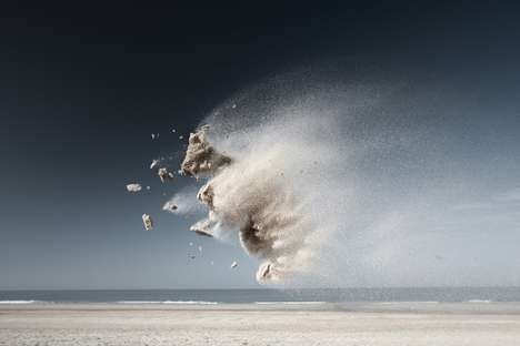 Explosive Earth Photography