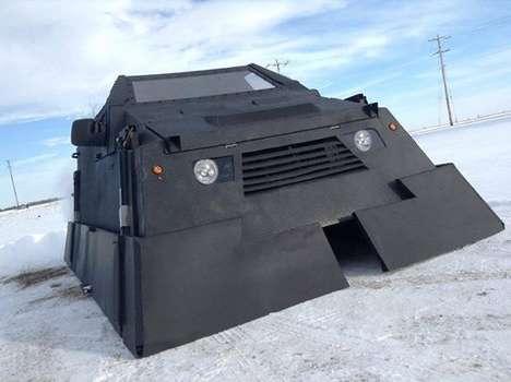 Armored Tornado-Chasing Vehicles