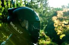 Intelligent Moto-Helmets - 'Skully Helmet' is Making 'Smart' Motorcycle Helmets