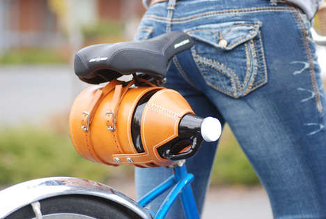 Leather Beer Growler Carriers