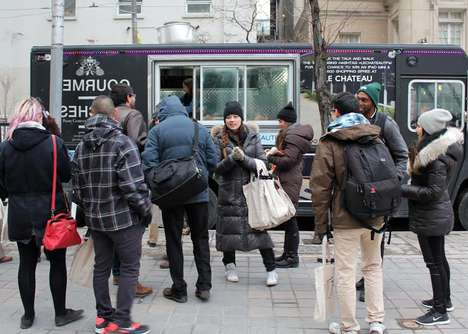 Fashion-Focused Food Trucks