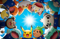 Adorable Anime Soccer Mascots - Japan Chose Pikachu as the Mascot for the FIFA 2014 Games